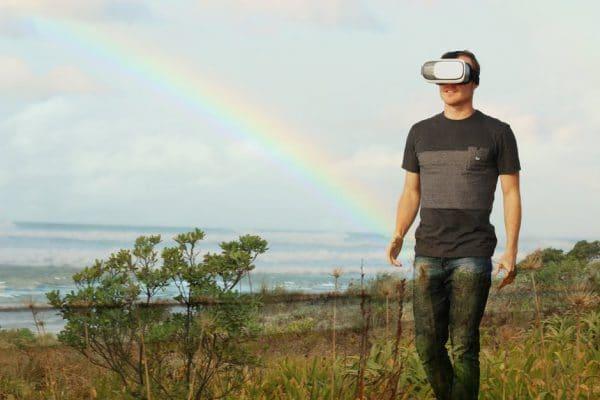 Virtual Reality VR bril Cadeau Man