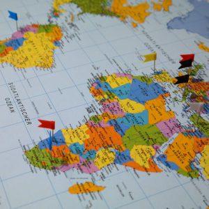 Wereld Kraskaart kado