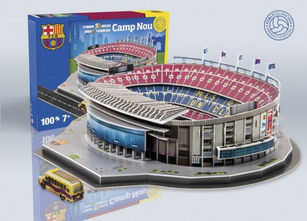 3D stadion puzzel cadeau