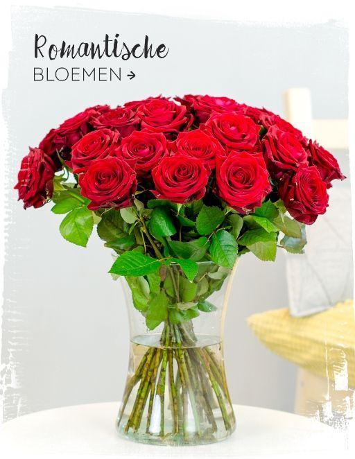Bloemen voor Valentijn Cadeau