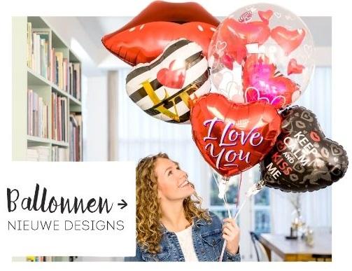 ballonnen valentijnscadeau voor haar