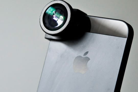 telefoon smartphone lens