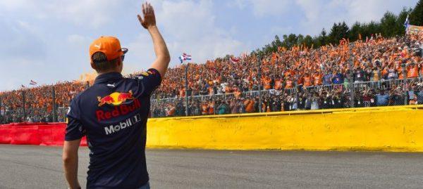 F1 Verstappen Tribune Ticket