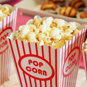 Popcorn cadeau voor filmliefhebber