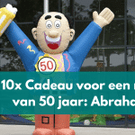10x een Abraham cadeau man: 50 jaar